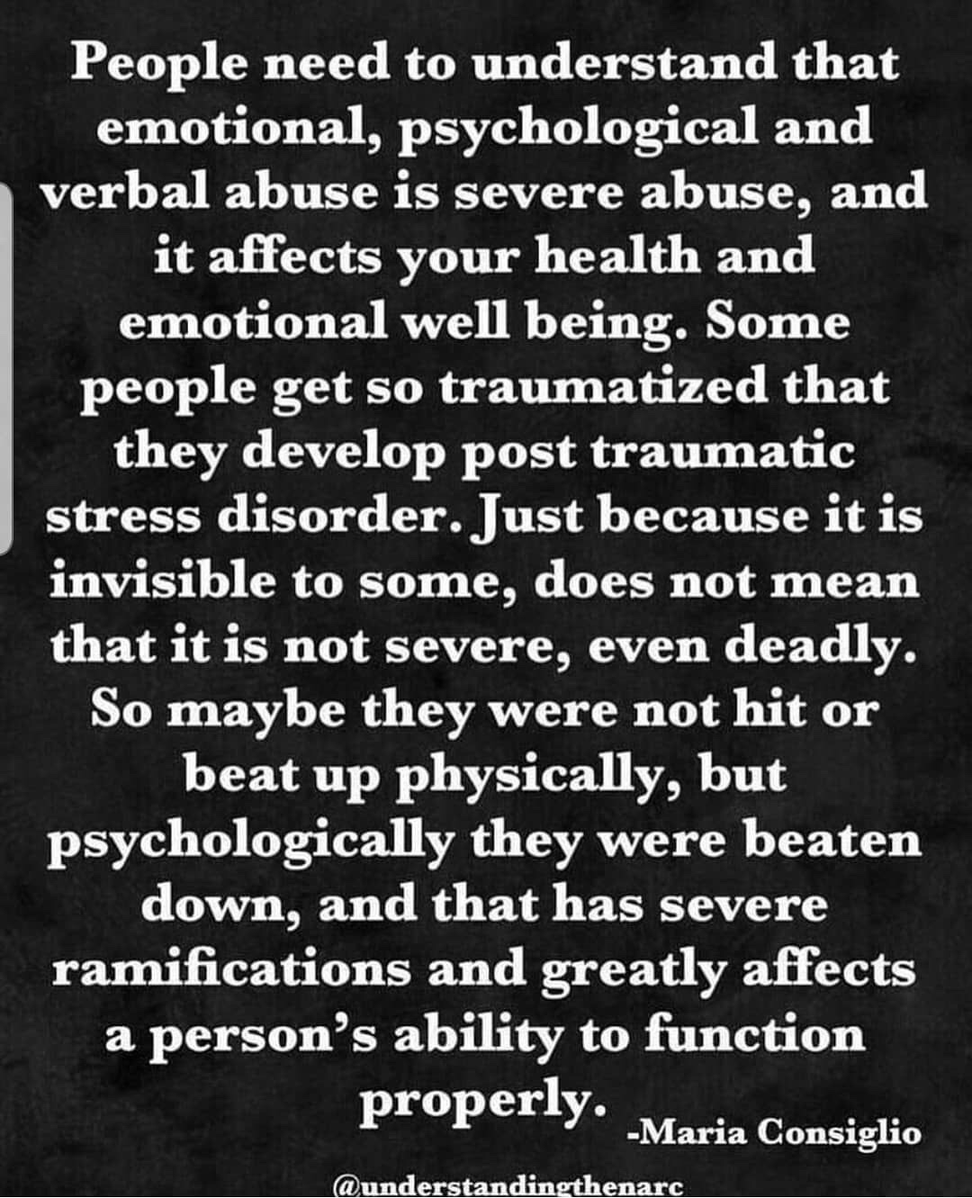 Quora Answers: The Stigma Of Narcissistic Abuse