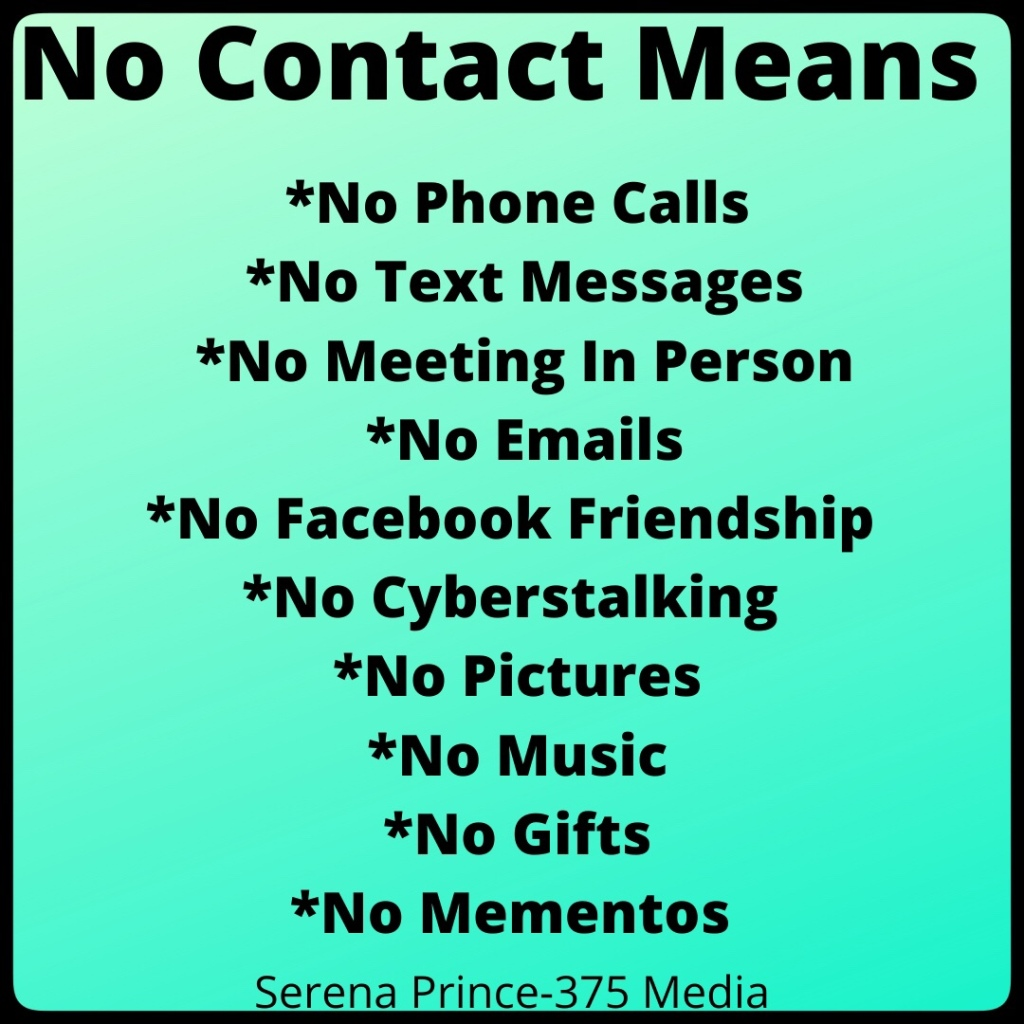 Contact works no with narcissist why Why The
