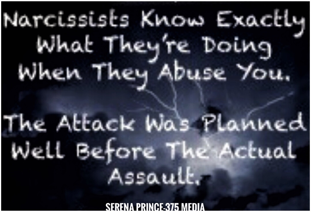 Do Narcissists Plan Their Vile Attacks On People?